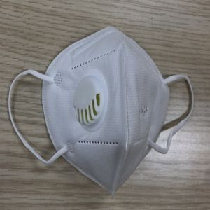 5 Layer Mouth Cover Protective Face Covers with Breathing Valve