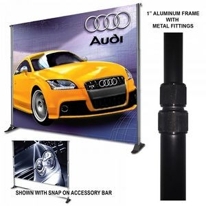 Premium 10'x12' Adjustable Stand, Convert Kit, & Banner